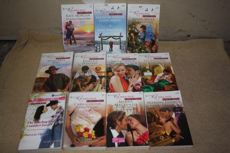 11 Harlequin Romance books / Harlequin novels / Harlequin books by TheKindLady on Etsy