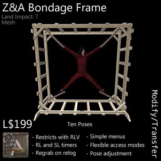 Z&A Bondage Frame (Light)