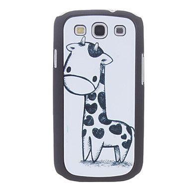 Disegno del fumetto giraffa caso duro durevole per Samsung Galaxy S3 I9300 – EUR € 4.79