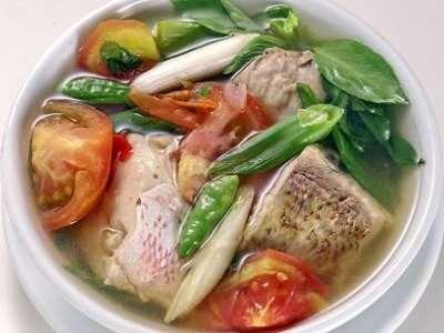 Sup Ikan Gurame - Simak cara membuat video resep sup ikan gurame kuah bening asam pedas kemangi sayur asin bumbu kuning ala dapur sunda cahaya lestari untuk balita disini.