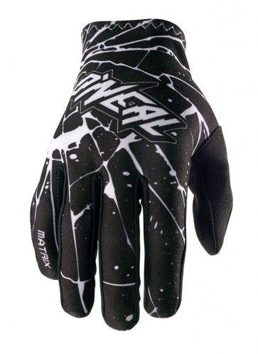 O'Neal Matrix Enigma Mens Motocross Off Road Dirt Bike Racing Gloves
