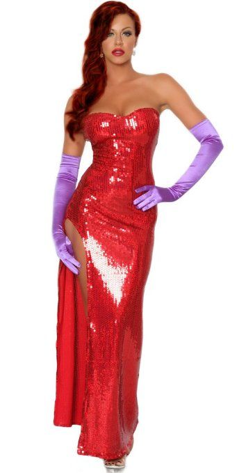 Amazon.com: 3WISHES 'Toon Wife Costume' Sexy Hollywood Starlet Costumes: 3WISHES: Clothing
