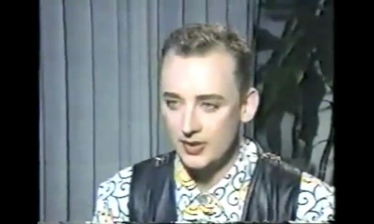 Boy George. Interview for High Hat 1989