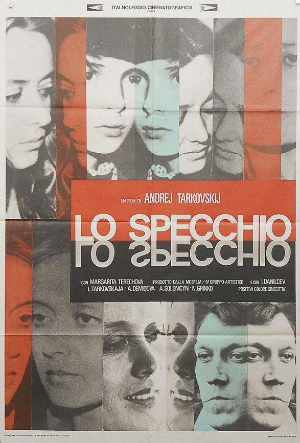 7 best filmografia images on pinterest locandine di film anni 39 70 e comunicazione visiva - Lo specchio tarkovskij ...