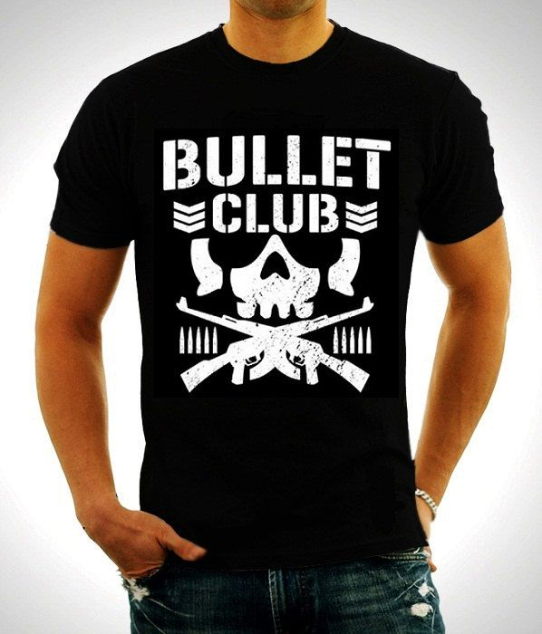 New Japan Pro-Wrestling Bullet Club Bone Soldier WWE Black T-shirt by TshirtfromBaco on Etsy