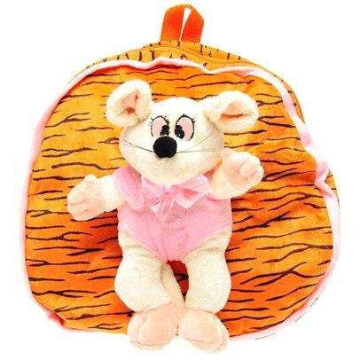 childrens backpack with removable toy, clearance sale Bag-SN2-SN0003-C-OraCrePin $8.00 on Ozsale.com.au