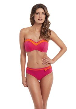 Kostium Panache Isobel | Swimsuit Panache Isobel | 159PLN #swimsuit #panache #pink #orange