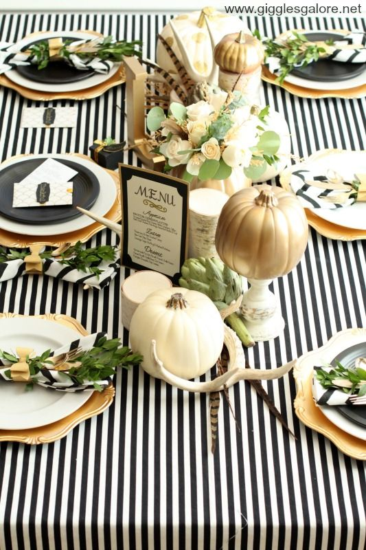 Holiday Entertaining Tips - Thanksgiving Table Ideas