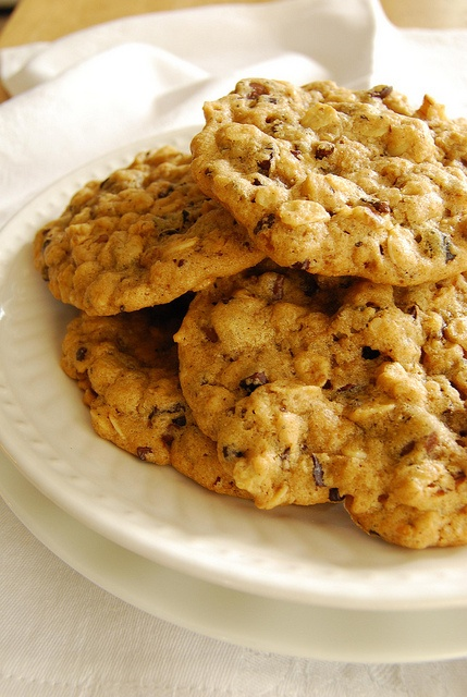Oatmeal Walnut Cocoa Nib Cookies | Delectable Desserts | Pinterest