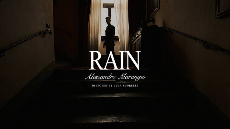 Rain - the video. Music by Alessandro Marangio. Directed by Luca Storelli