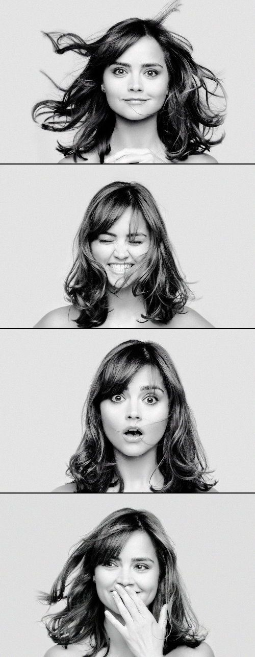 """""""Jenna-Louise Coleman (born 27 April 1986), known as Jenna Coleman, is an English actress. She is best known for her role as Clara Oswald in the British television series Doctor Who and Jasmine Thomas in the British soap opera Emmerdale. ... """"In 2012, she was voted 91st by readers of FHM in their annual 100 Sexiest Women poll. A year later she finished 30 places higher in the same poll."""" (...wonder how THAT happened!)"""