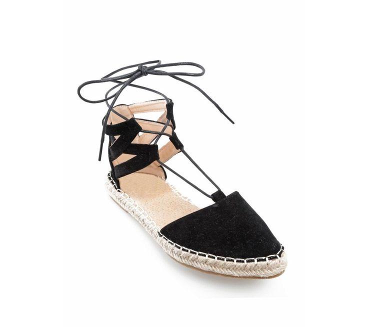 Espadrilky so šnurovaním | modino.sk #ModinoSK #modino_sk #modino_style #style #fashion #spring #summer #shoes #espadrilky