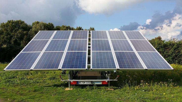 Solar Trailer 5 4 Kwp Photovoltaics ά