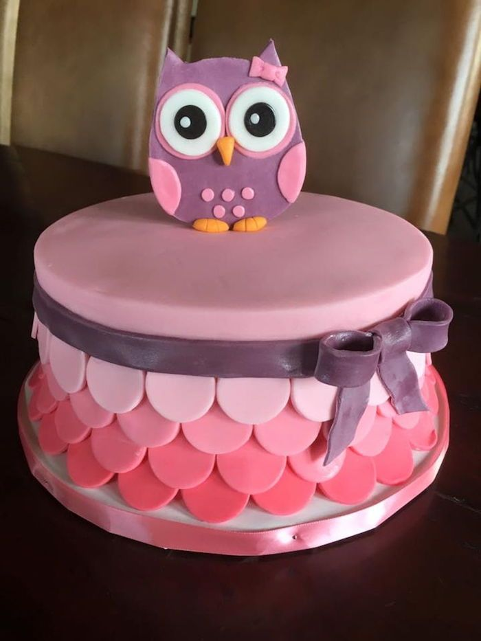 1001 Ideas For Baby Shower Cakes For Boys And Girls Owl Cake