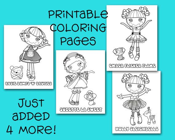 Lalaloopsy Coloring Pages Pdf : Best images about coloring pages on pinterest