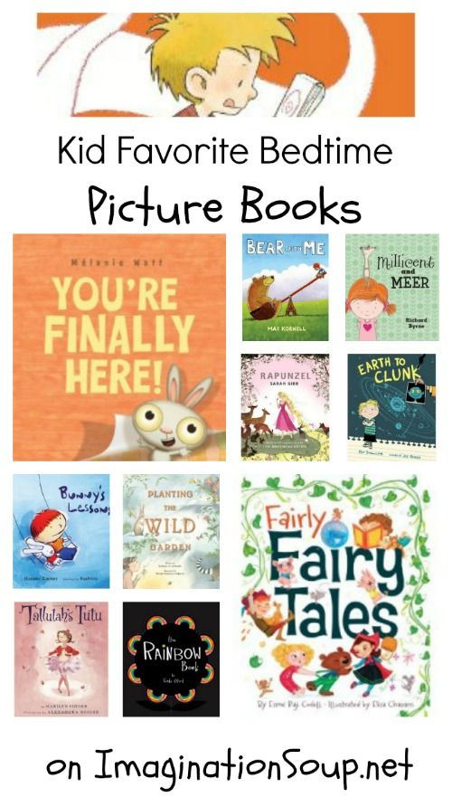 some of our favorite bedtime stories -- great picture books! http://imaginationsoup.net/2011/05/best-childrens-picture-books-spring-2011/