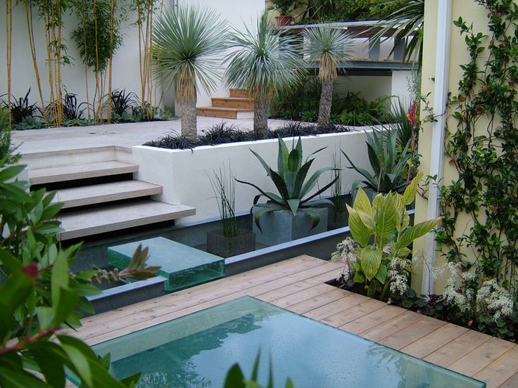 636 best images about garden design water features on for Contemporary pond design