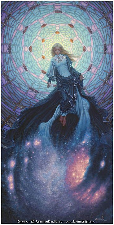 Goddess art of Jonathon Earl Bowser - Eternity