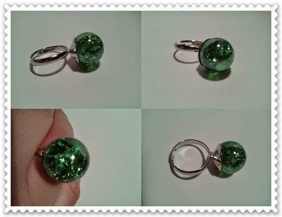 Kézművelő műhely: Üveggolyó gyűrű
