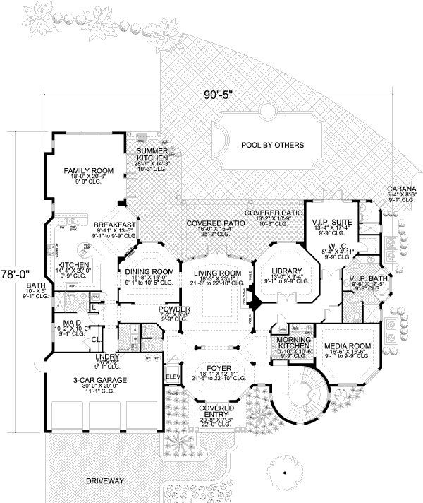 111 best House Plan Ideas images on Pinterest | House floor plans ... - luxury floor plans
