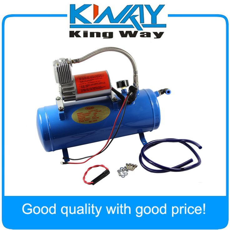 150psi dc 12v air compressor with 6 liter tank for train