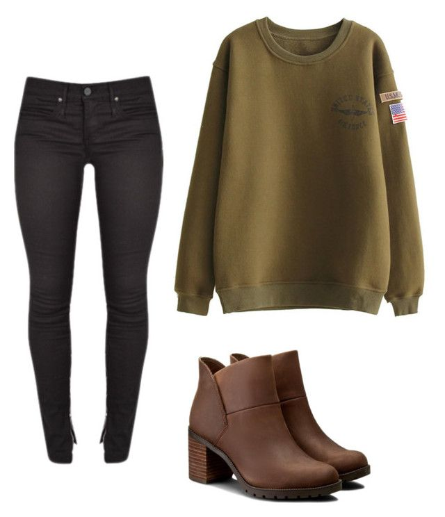 """Emilia Kang"" by madnonnormal on Polyvore featuring Clarks"