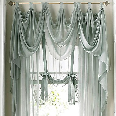 JCPenney  American Living Midnight Mist Draperies ~ Would Be Beautiful In  My Bedroom!