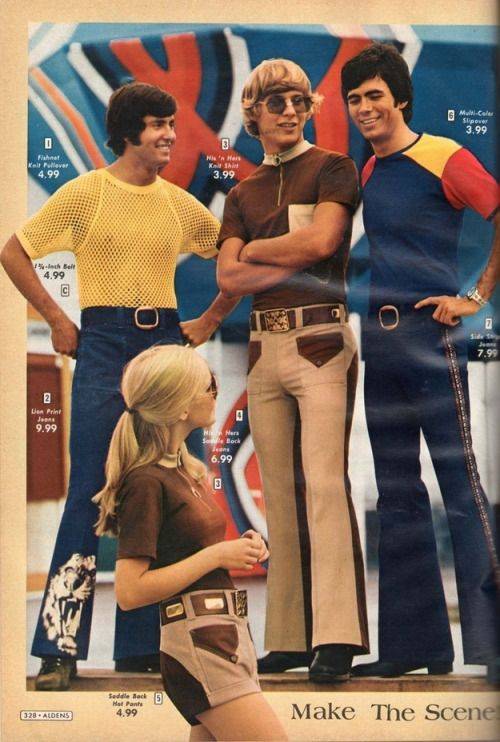 1970s catalogue fashions.