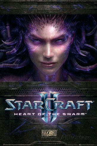 Starcraft 2 Heart of the Swarm Poster
