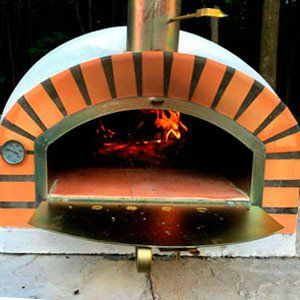 This Pizzaioli Brick Wood Fired Oven is perfect for baking pizzas while sitting outside with friends sipping wine.  � Patio & Pizza