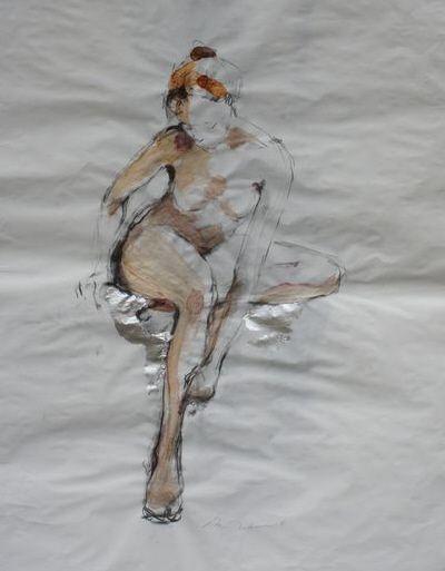 Drawing by Michał Zaborowski, 100x70cm