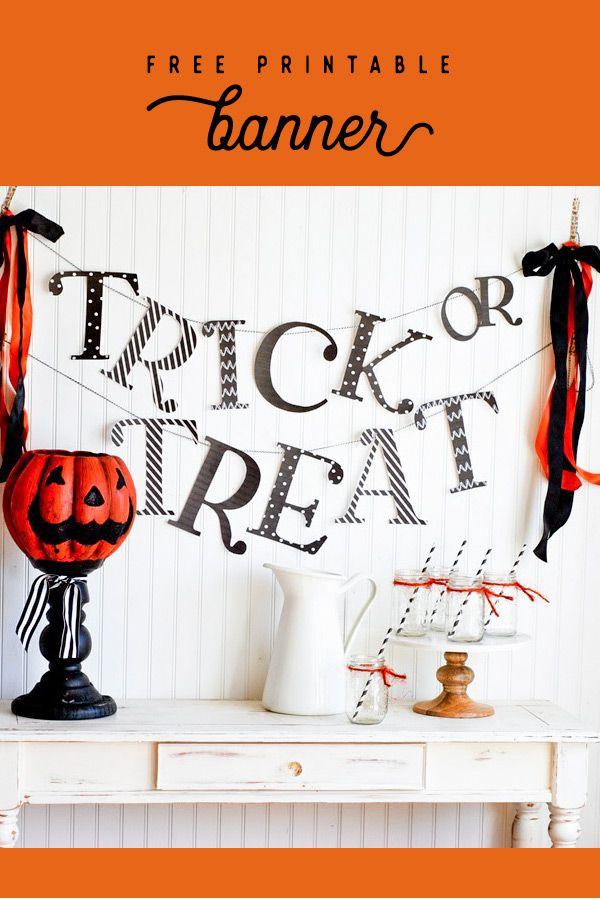 Süßes oder Saures Halloween Banner