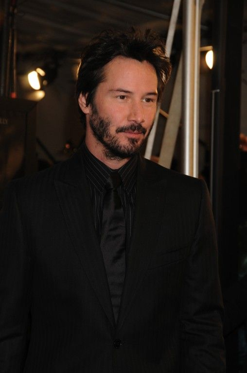 WHY DO WE LOVE KEANU? Because he really does look lovely ...