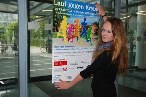 """""""Lauf gegen den Krebs"""" lautet das Motto der gemeinsamen Benefizveranstaltung des Uni-Klinikums Erlangen und des Comprehensive Cancer Center Erlangen-EMN."""