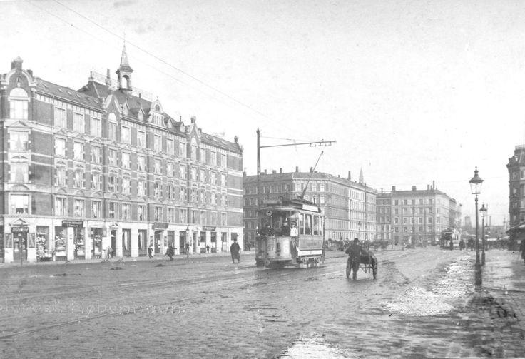 Halmtorvet ca. 1905.