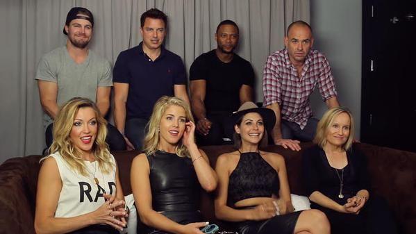 #Arrow Cast Talk 'Olicity' Road Trip, Premiere's Shocking Ending #SDCC 2015 #CWSDCC