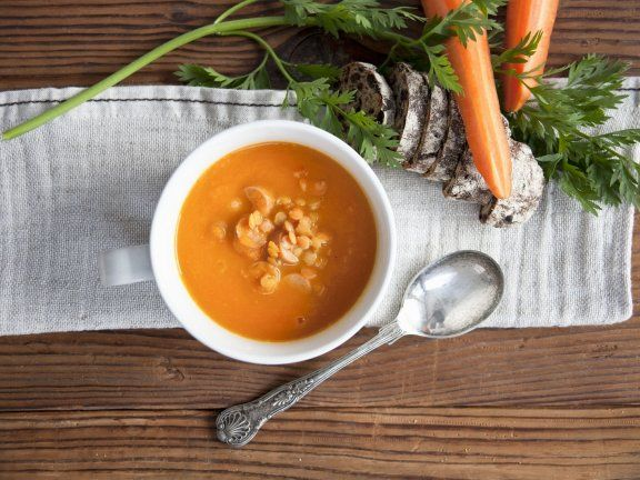 Köstliche Karotten-Linsen-Suppe |
