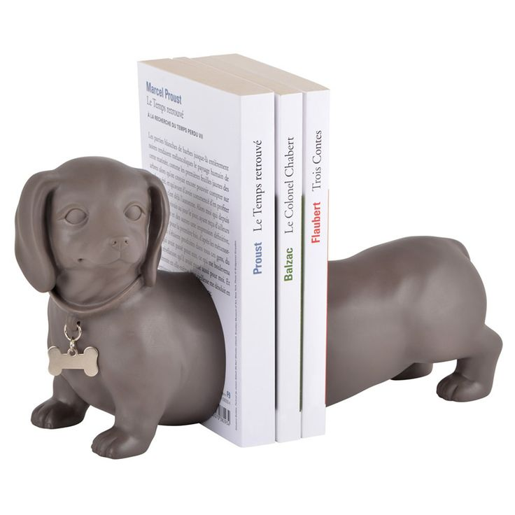 Amikado: Serre-livres design Teckel : une id�e de cadeau original