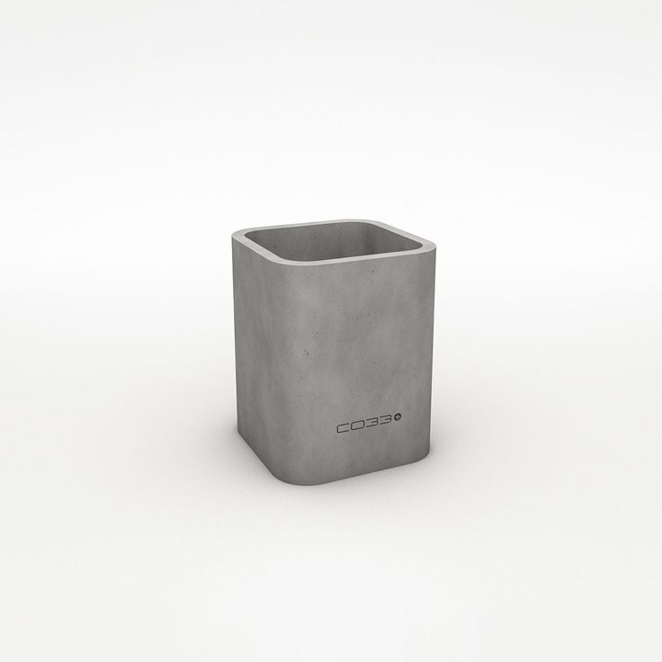Concrete Planter/ Basic Container OPUS SATIO By CO33