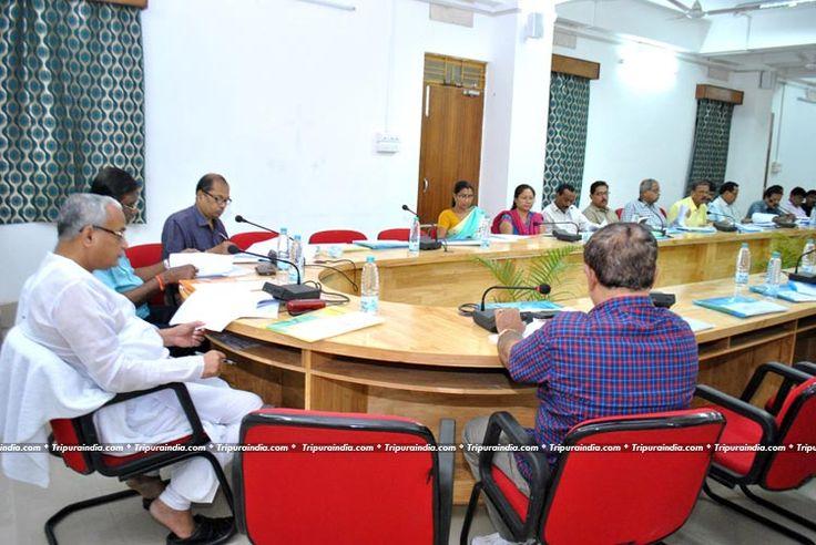 Minister Sahid Choudhury held Review Meeting at Bhagat Singh Yuba Awas on 15 June 2016 http://www.tripuraindia.com/