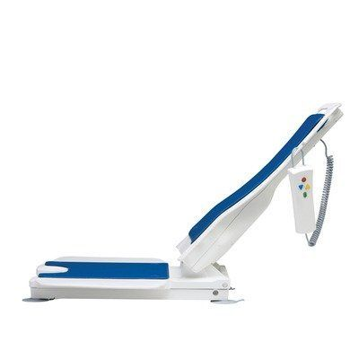 Bellavita Bath Lift with Optional Accessories Color: White by Drive Medical. $565.00. Set of: 477200252 and 102385 and 460900213 and 46 Color: White Features: -The lightest bath lift on the market at only 20.5 lbs.-At 2.3'' the Bellavita is the lowest bath lift available.-Seat height reaches a record 18.8''. Excellent for deeper model tubs.-The backrest reclines to a market leading 50 degrees at its lowest position.-Completely tool free set up makes it easy to install and...