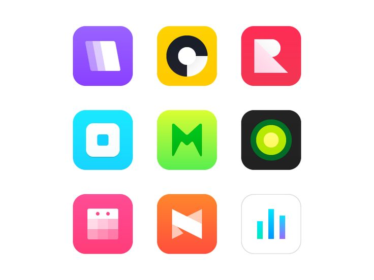 Fresh App Icons on UI Space