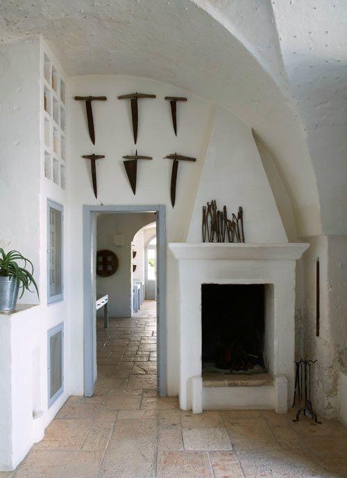 "From ""Masseria: The Italian Farmhouses of Puglia"" #architecture, #white, #Italy"