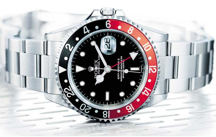 "Rolex GMT Master II  ""Don't see many of theses around"" : )"