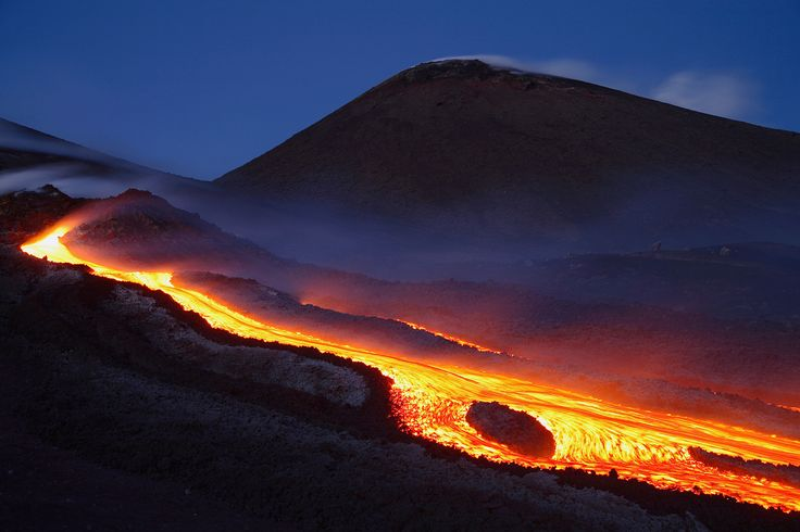 Historical eruptions of Mount Teide ~ Great Mountain