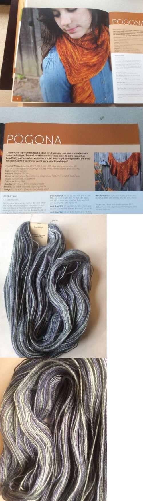 Knitting Kits 108868: Stephen West Pogona Shawl With Brooks Farm Primero 100% Kid Mohair -> BUY IT NOW ONLY: $30 on eBay!