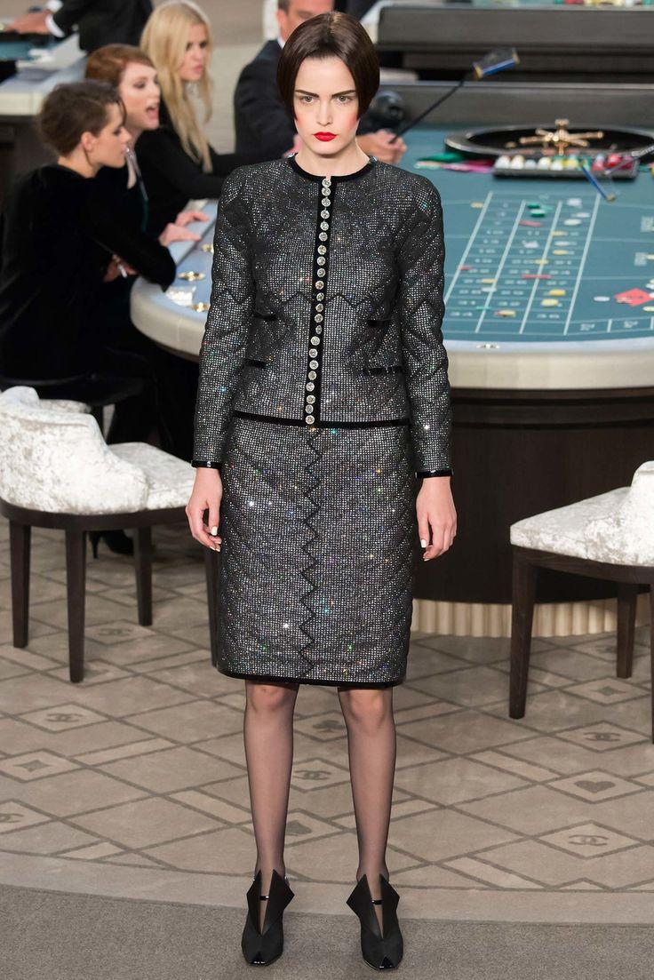 Chanel Fall 2015 Couture Fashion Show - Zlata Mangafic