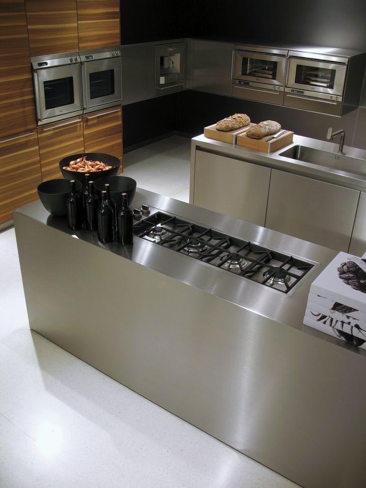 Gorgeous #Kitchen #design with the split island