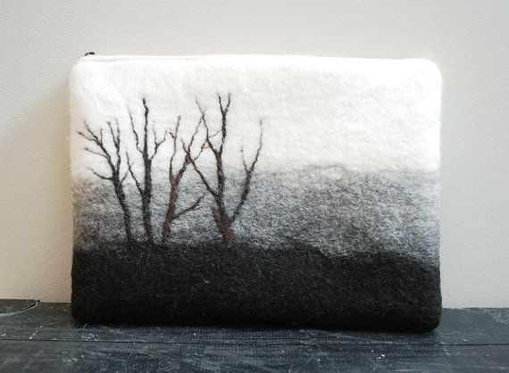 Image result for felted cityscape