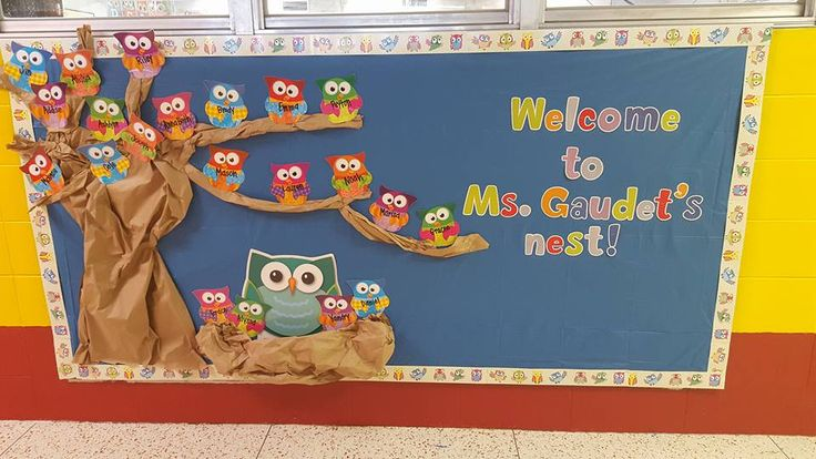Welcome to Ms. Gaudet's Nest by Jessica G.